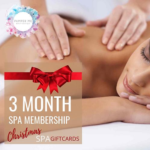 3 Month Massage Membership