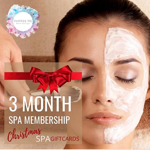 3 Month Facial Membership