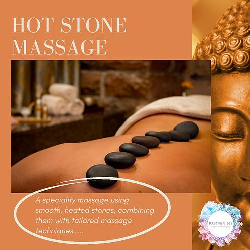 Hot Stone Massage, 30 mins