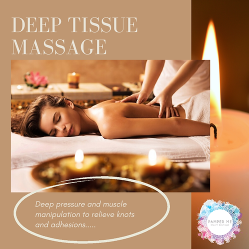 Deep Tissue Massage, 30 mins