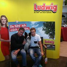 Live Moderation bei Möbel Ludwig