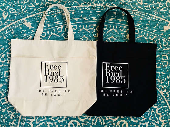 FreeBird1985 Tote Bag (large)