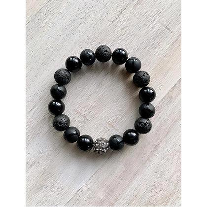 Black Opulence Bracelet