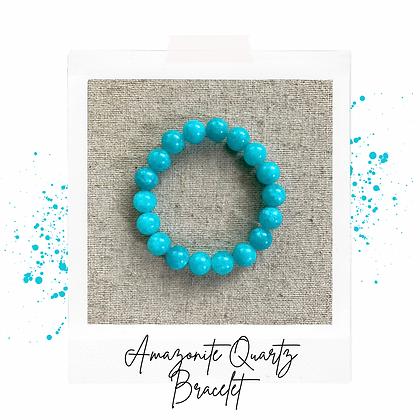 Amazonite Quartz Bracelet