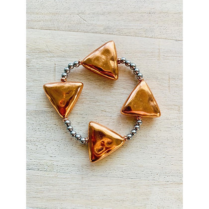 The Rose Gold Direction Bracelet