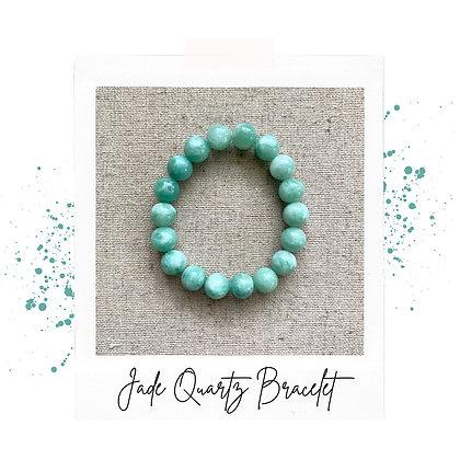 Jade Quartz Bracelet