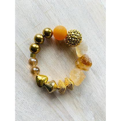 Mother Of Quartz Bracelet