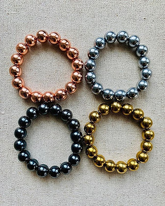 Hematite Bracelet (12mm)