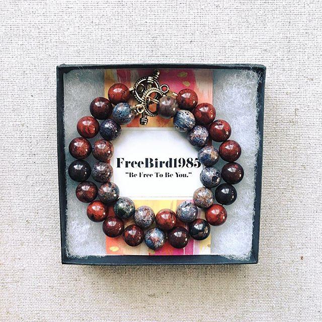 Custom Distance Bracelet Set_•_Made with
