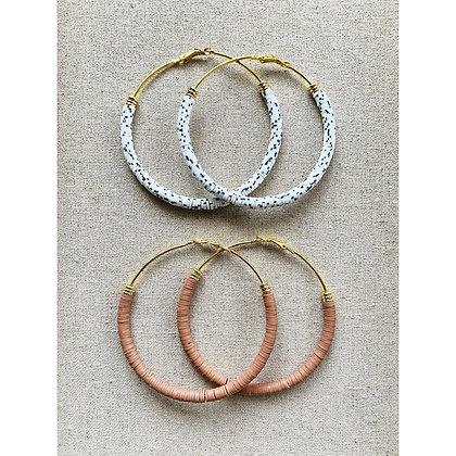 Full Circle Hoops (gold