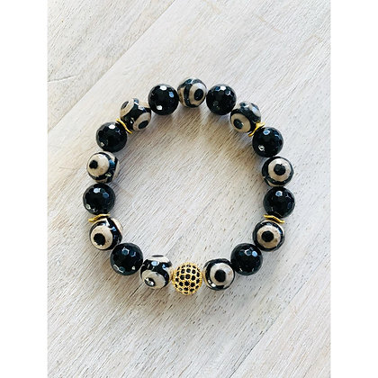 Black Eyed Peace Bracelet