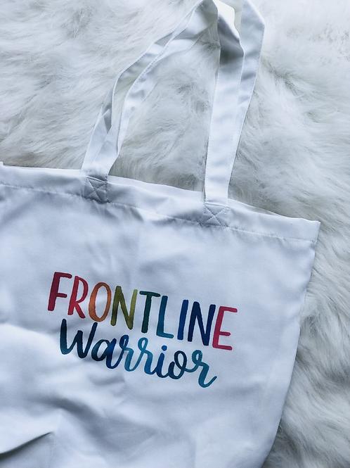 Frontline Warrior Tote Bag