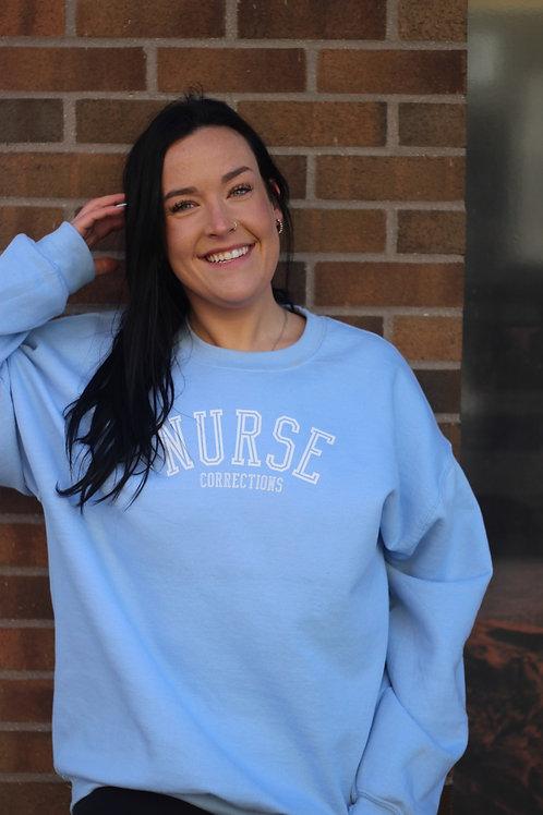 Nurse Light Blue Crew-Neck