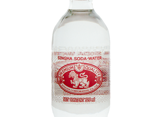 Thai Soda Water Cartoon