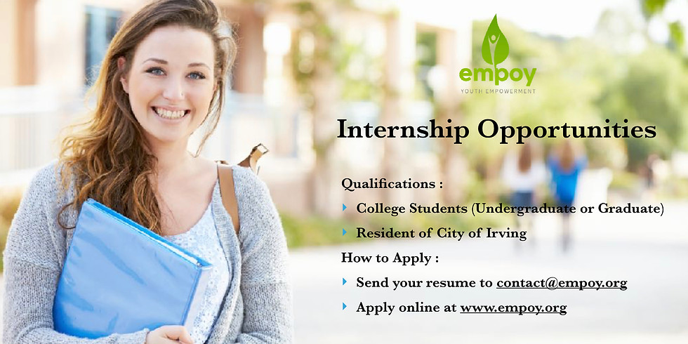 Explore Internship Opportunities with Empoy