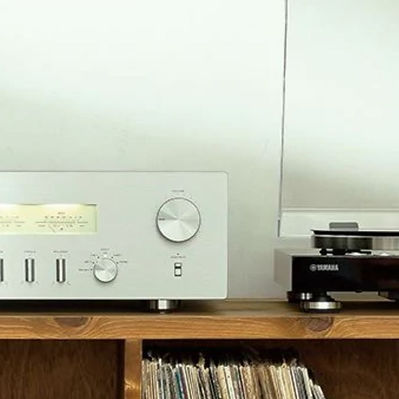 Yamaha-A-S-Series-amplifiers-and-speaker