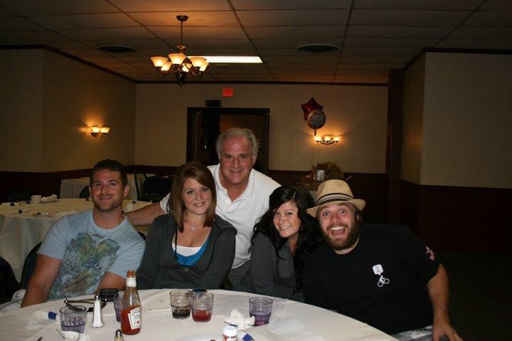 Charles with Ross, Amanda, Daria and Adam