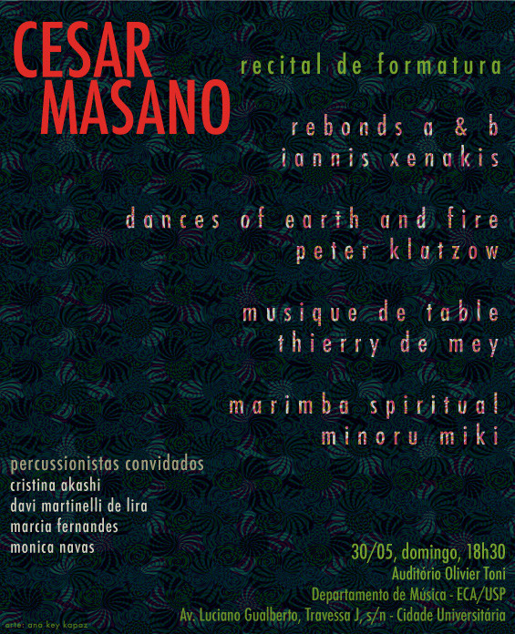 Cesar Masano | Recital