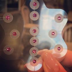 Hot Pink crystals_ colour of good health and life 👑__桃紅色水晶:象徵美好生活及健康 👑__#喵耳朵 #meowerdo #hotpink #c