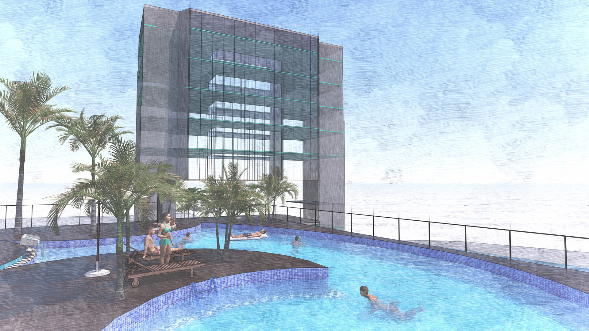 Option 1 - piscine