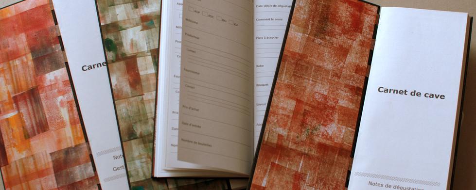 Cellar notebook