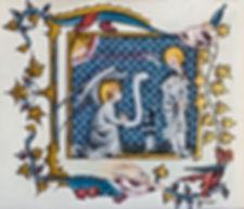 Annonciation XIV siécle
