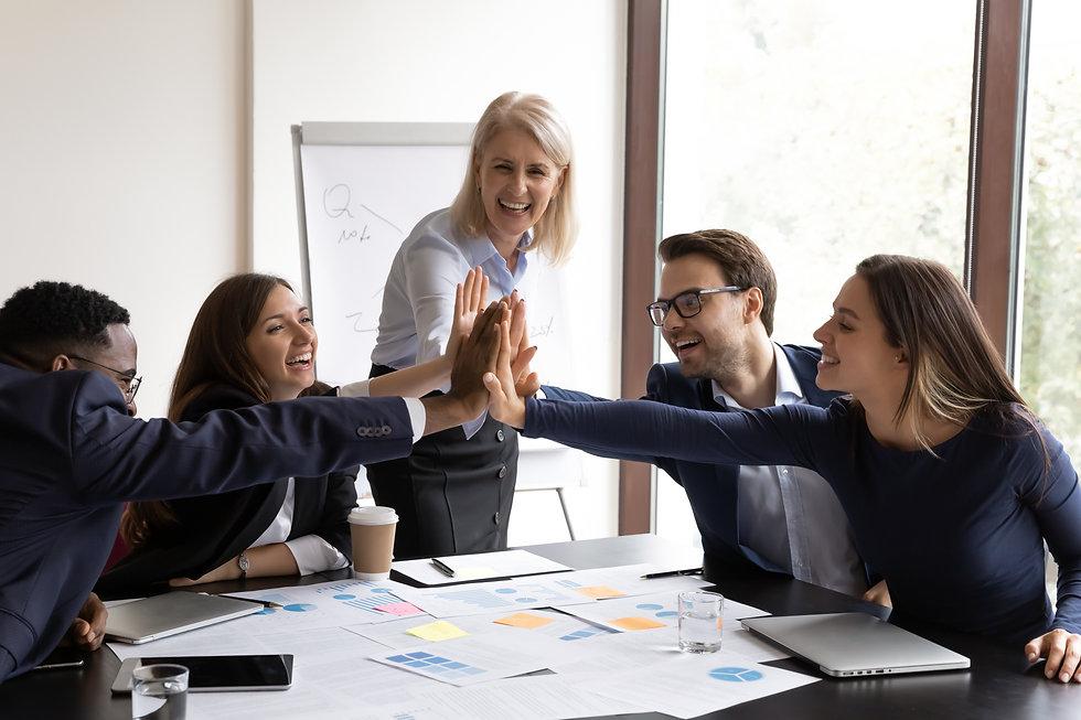 Motivated Staff, Team, Employees