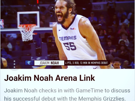 Joakim Noah has signed with the Memphis Grizzlies!