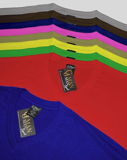 V-Neck Color - 3/Pack
