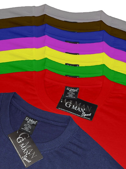 Round Neck Colors - 3/Pack