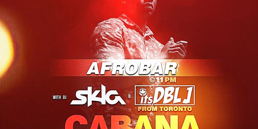 AFROBAR LIVE AT CABANA NIGHT CLUB