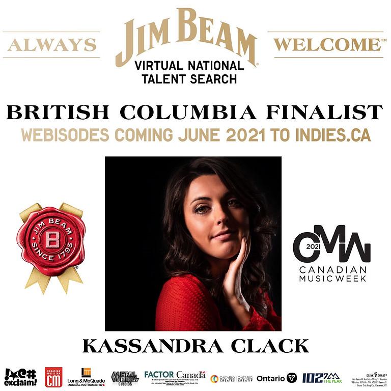 Jim Beam Talent Search 2021 - Kassandra Clack