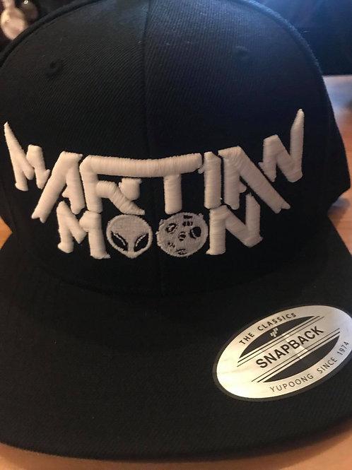 Snapback Hat - White / Glow Logo