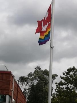 West Lorne Flag Raising
