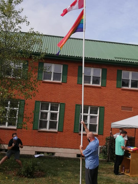 Family & Children's Services of St. Thomas and Elgin County Flag Raising