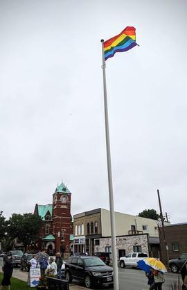 Strathroy Flag Raising