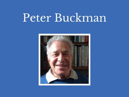 An interview with Peter Buckman