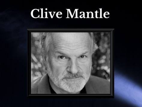 An interview with Clive Mantle: Part 1