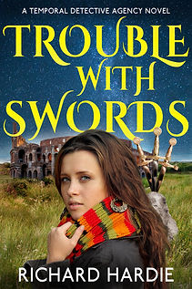 trouble with swords richard hardie authors reach ltd