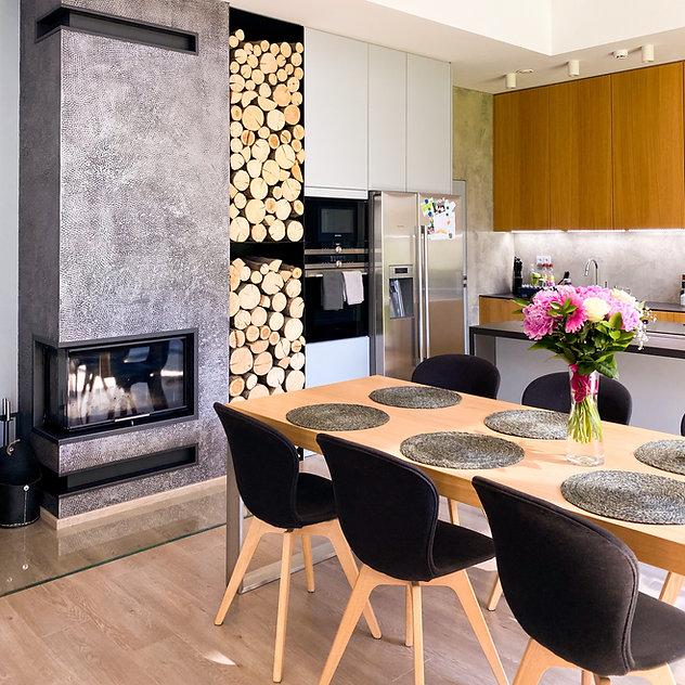 Interiéry Pazour kuchyň