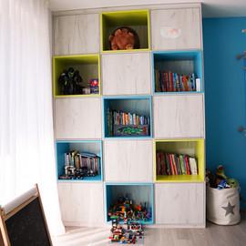 Interiéry Pazour_dětský pokoj