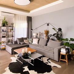 Interiéry Pazour_obývací pokoj
