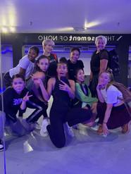In rehearsal for Disney's SHOOK