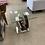 Thumbnail: Global Furniture End Table Walnut/Oak