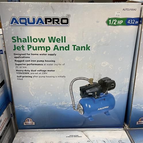 Shallow Well Jet Pump & Tank