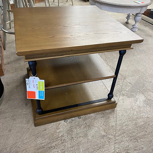 Kyler Floor Shelf End Table