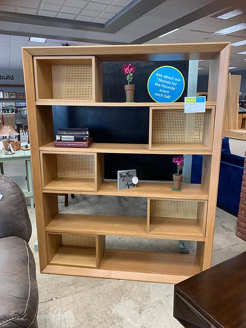 Bookshelf with moveable storage by Joybird