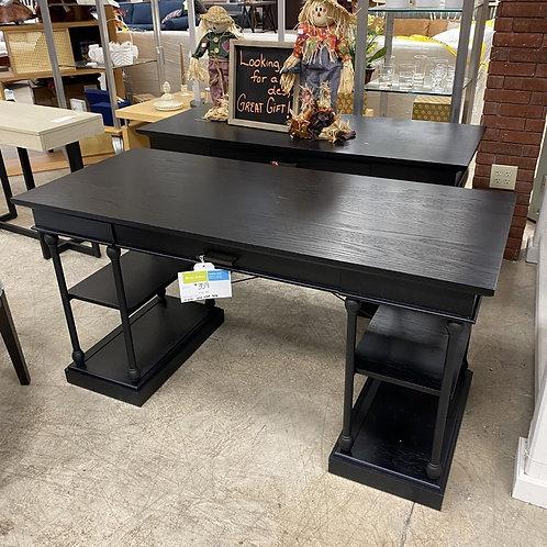 Poyner Black Desk