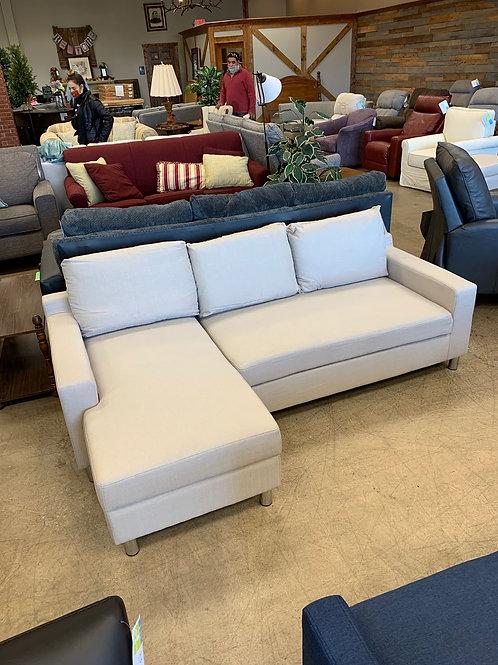 Joybird Ivory Sleeper Couch w/ Chaise