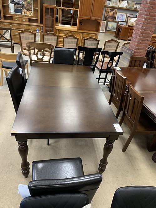 Dark Wooden Dining Table